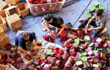 Các sản phẩm thủ công mỹ nghệ cói Kim Sơn- Ninh Bình