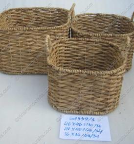 Giỏ bèo đan ngang VNH0019
