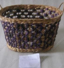 Làn bèo đan hoa văn VNH0034