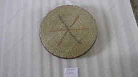 Đệm cói mút tròn họa tiết màu VNH0058