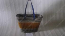 Túi cói họa tiết ngang VNH0054