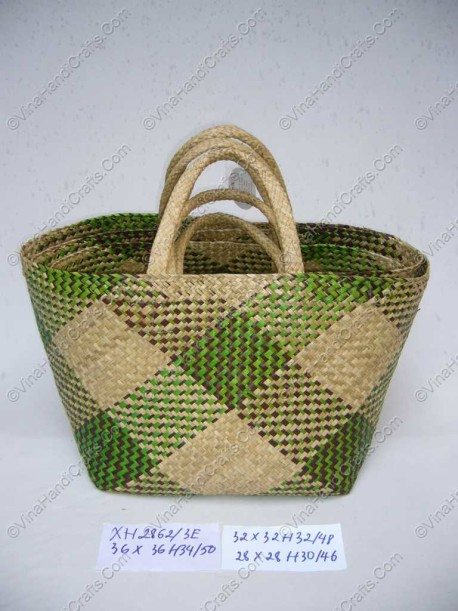 Làn đan cói dập họa tiết VNH0087