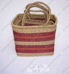 Seagrass bags in rectangular shape VNH0109