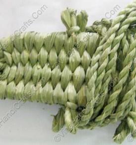 Đế đan rơm có dây xoắn VNH0143