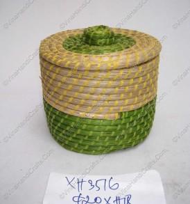 Hộp đan cói xiên nhựa màu VNH0224