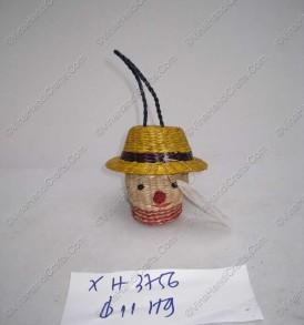 Hộp cói hình đầu người VNH0229