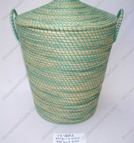Seagrass handmade round laundry BasketVNH0306