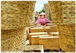 Đa dạng các sản phẩm đan từ bèo lục bình