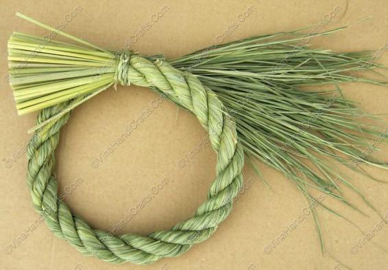 Quại đan rơm xoắn tròn VNH0138