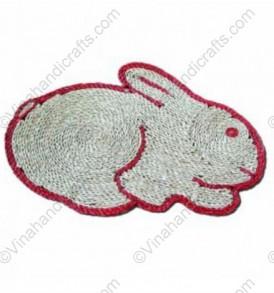 Seagrass door mats bunny vnh0371