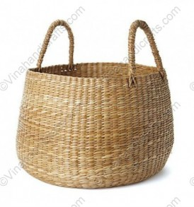 Seagrass round baskets vnh0366