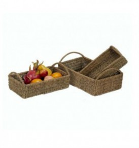 Seagrass tray rectangular VNH0376